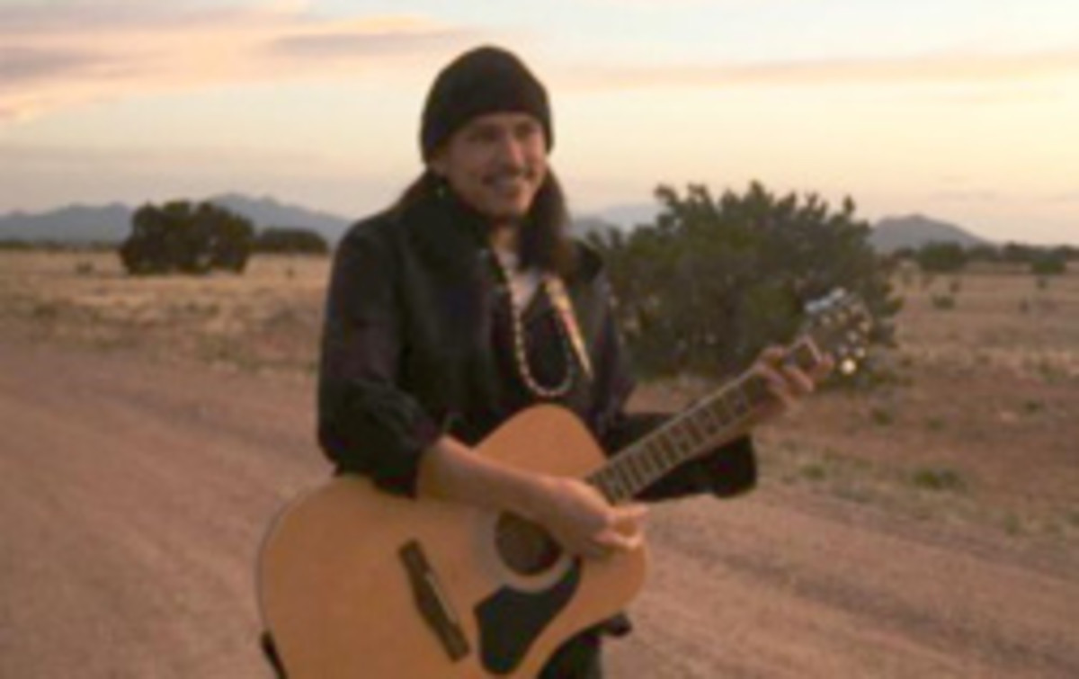 Dakota Yazzie is a featured performer at the IAIA Musical Festival. Courtesy image