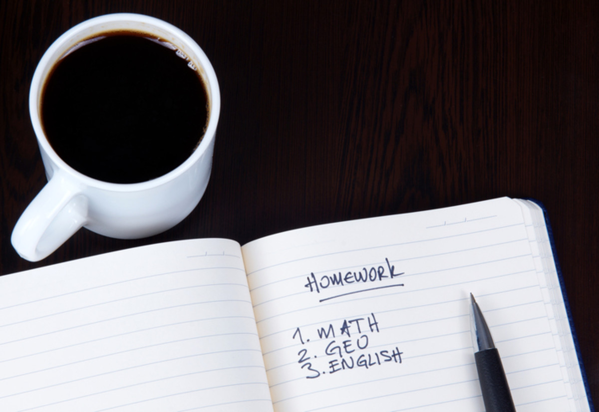 I don't see much wrong with a to-do list and some coffee.