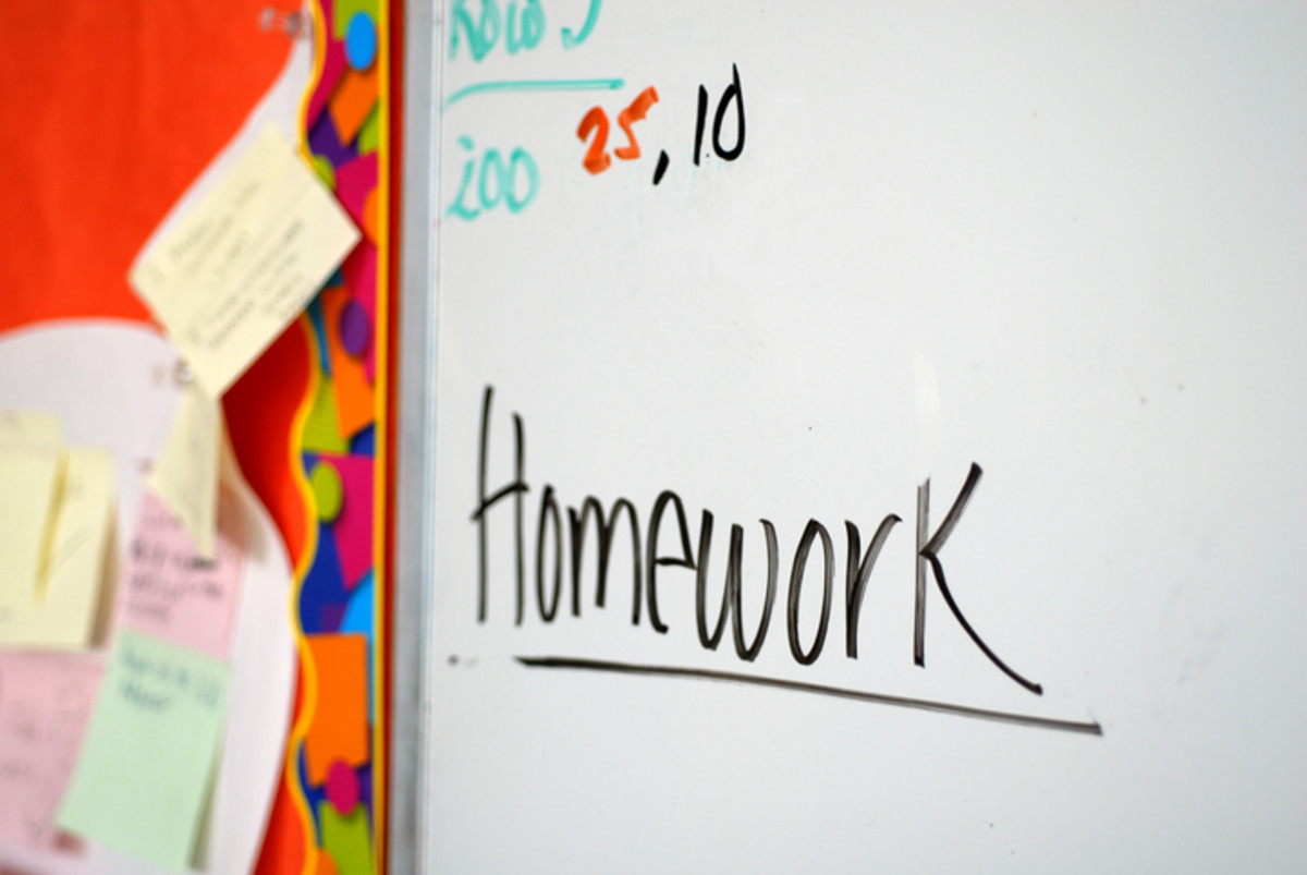 Homework needs a dry erase board