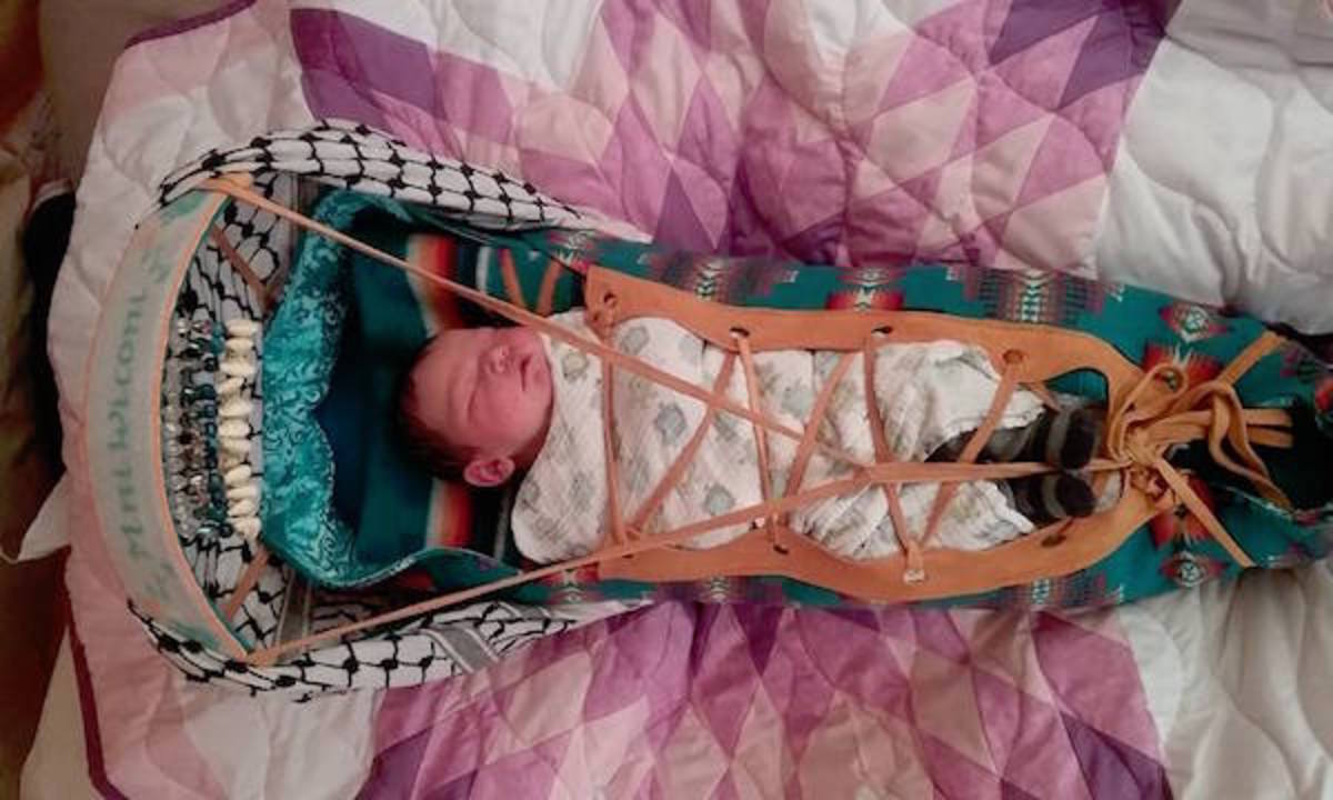 Birthing the Sacred: Baby Born at Water Protector Camp Bears Hope