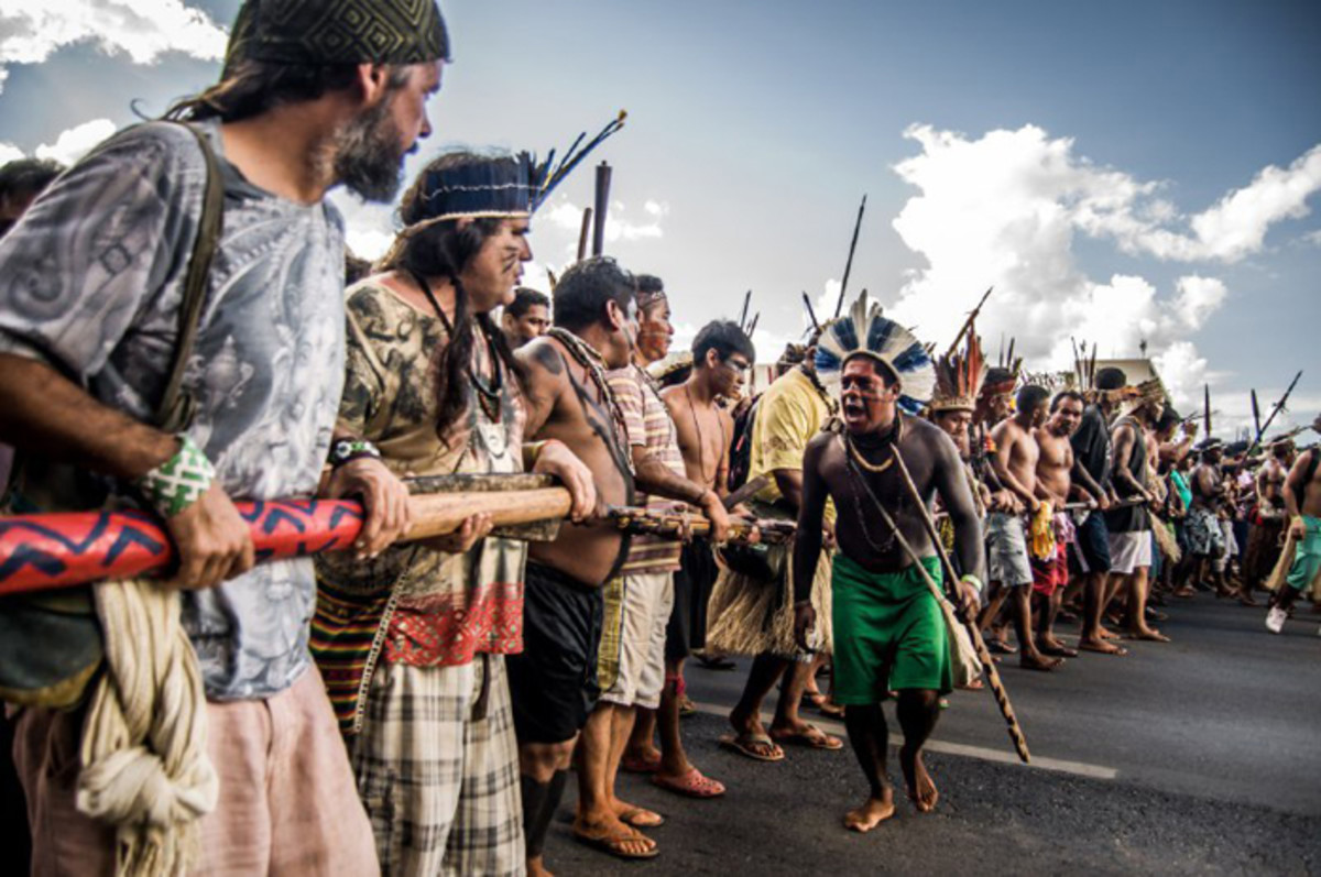 Indigenous Protests, paper coffins, Land Rights, Murder