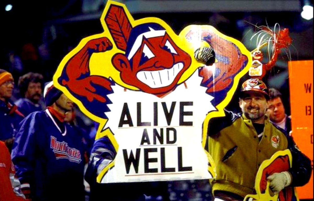 Chief Wahoo Lives On in Cleveland!
